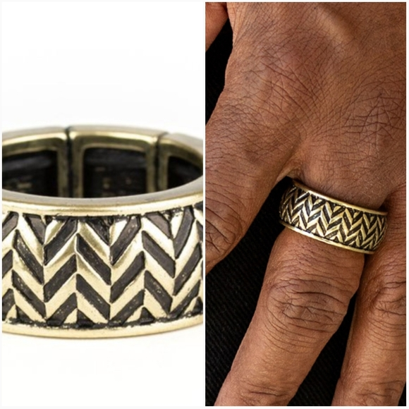 paparazzi Other - SURVIVAL SKILLS BRASS RING